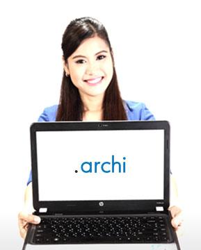 โดเมนเนมนามสกุล .ARCHI