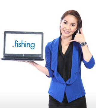 โดเมนเนมนามสกุล .FISHING