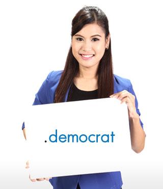โดเมนเนมนามสกุล .DEMOCRAT