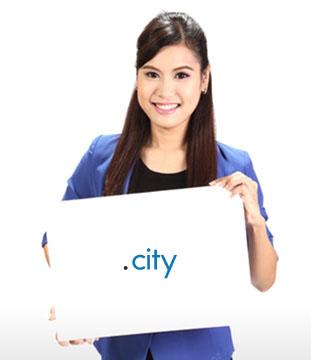 โดเมนเนมนามสกุล .CITY